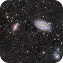 M81/82 LRGB with Ha,                                Greg Nelson