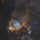 IC1795 - Fishhead Nebula in SHO and PRGB stars,                                Uwe Deutermann
