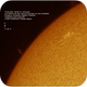The Sun in H-alpha - active area and prominence, ASI290MM, 2020519,                                Geert Vandenbulcke