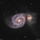 M51 - Whirlpool Galaxy,                                Chris Massa