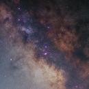 Milky Way Core - Wide Field - M 8, M 16, M 20, M 21, M 22, M 23, M24,                                Antonis Karousis