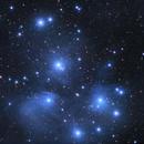 Plejaden M45,                                webeve