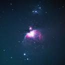 The Orion Nebula,                                Astromonster85