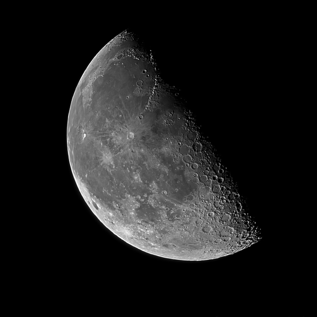 The moon,                                Tareq Abdulla