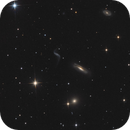 Group of galaxies Hickson 44 in Leo,                                apricot
