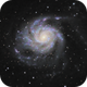 M101 Pinwheel Galaxy,                                George Hilios