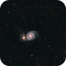 M51 - Widefield,                                Andrew Marjama