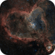 The Heart Nebula: Valentine's Day Edition,                                Alex Roberts