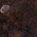 NGC 6888 champs large,                                echosud