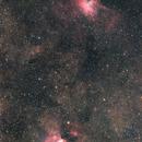 Omega and Eagle Nebula,                                Ken-ichiro Tanaka