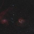 IC 405 and IC 410,                    Scotty Bishop