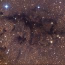 LDN 673, a dark nebula in Aquila,                                Jari Saukkonen