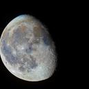 Mond in Farbe 86% laut Mondphasen App,                                Matthias Groß