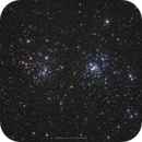 The Double Cluster - NGC 869, NGC 884,                                Henrique Silva