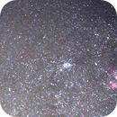 Carina detail with open cluster from Sydney,                                astrogkg