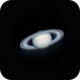 Saturn and its moons,                                klaussius