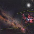 The Milky Way and its nebulae II !,                                Adriano