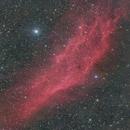 California Nebula - NGC 1499,                                Tristan Campbell