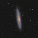 NGC 253 from Northern Hemisphere - 3 hours,                                raguramm