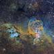 NGC3576 Statue of Liberty,                                Magellan_Team