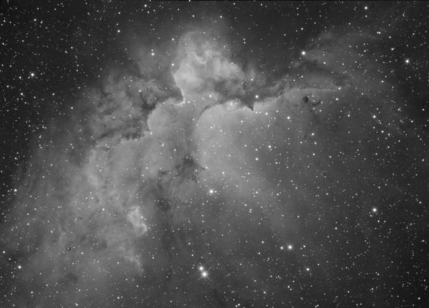 Wizzard Nebula,                                Albert van Duin