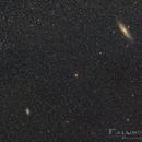shooting duel - M31 against M33- referee: NGC 752,                                Niko Geisriegler
