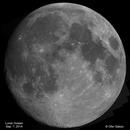 Lunar mosaic, Sep. 7, 2014,                                Ofer Gabzo
