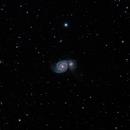 M51 Whirlpool galaxy,                                Costin Popescu
