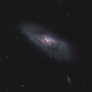 M106 - Galaxy in CV,                                Mikko Viljamaa