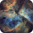 The Eta Carina Nebula - Hubble Palette,                                Eric Coles (coles44)