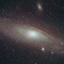 Andromeda Galaxy,                                Petri Kiukas