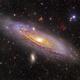 M31, ANDROMEDA GALAXY,                                Amir H. Abolfath