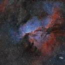 NGC 6188 Fighting Dragons HOO,                                Claudio Ulloa Saa...