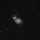 M 51 - Strudelgalaxie,                                Oliver_Schulz