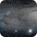 M32 to NGC206 in Andromeda,                                Craig Emery