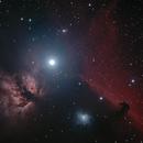 Flame & Horsehead Nebulas,                                404timc