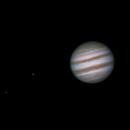 Jupiter with Io and Europa,                                whitenerj