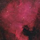 NGC7000 - 2017,                    Peter Folkesson