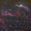 The Veil Nebula NGC 6960,                                Yuzhe Xiao