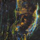 Western Veil NGC6960 - SHO-LRGB,                                  equinoxx