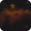 Seagull Nebula IC2177 Ha, S2, O3,                    Robert Huerbsch