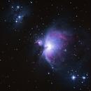 M42 - Nébuleuse d'orion,                                Sébastien Chouet