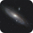 "M 31 - test with Sonnar 4/300 (""Zebra""),                                Lars Stephan"