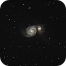 M51 Whirlpool Galaxy,                                Robert Browning