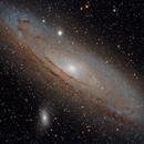 M31 - Andromeda,                                Brian Peck