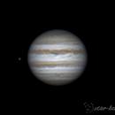Jupiter and Ganymede, 22 january 2015, 23:50,                                Star Hunter