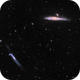 Whale and Hockey Stick Galaxies,                                Chris Massa