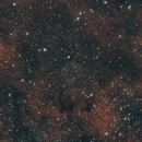 Soap Bubble Nebula in HOO,                                Chris Massa