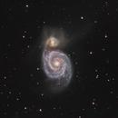 M51 - The Whirlpool Galaxy,                                Alex Roman