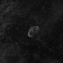 NGC 6888 Crescent nebula in Ha,                                Barry Wilson